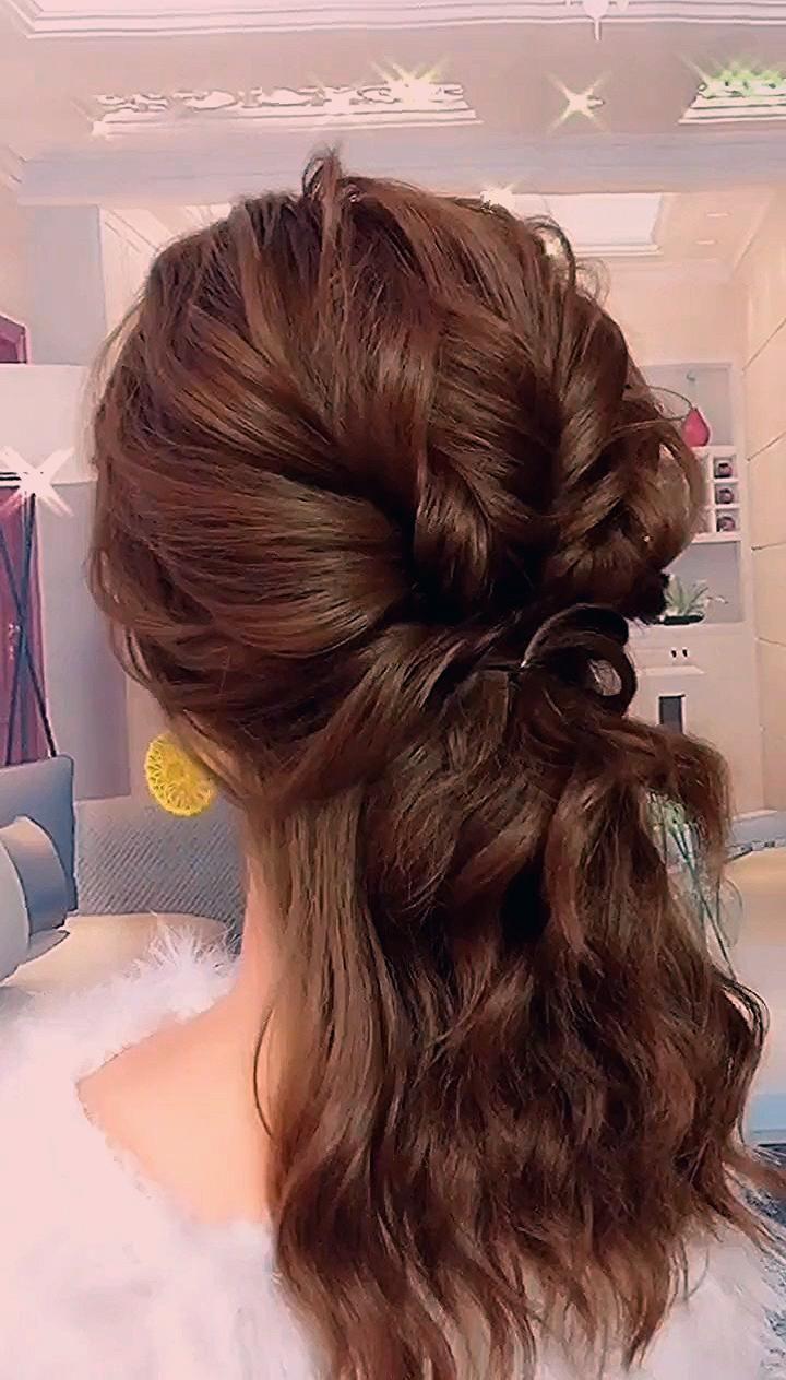 Photo of 46 easy formal hairstyles for long hair women or girls – #EASY #formal #girl… – Mein Blog