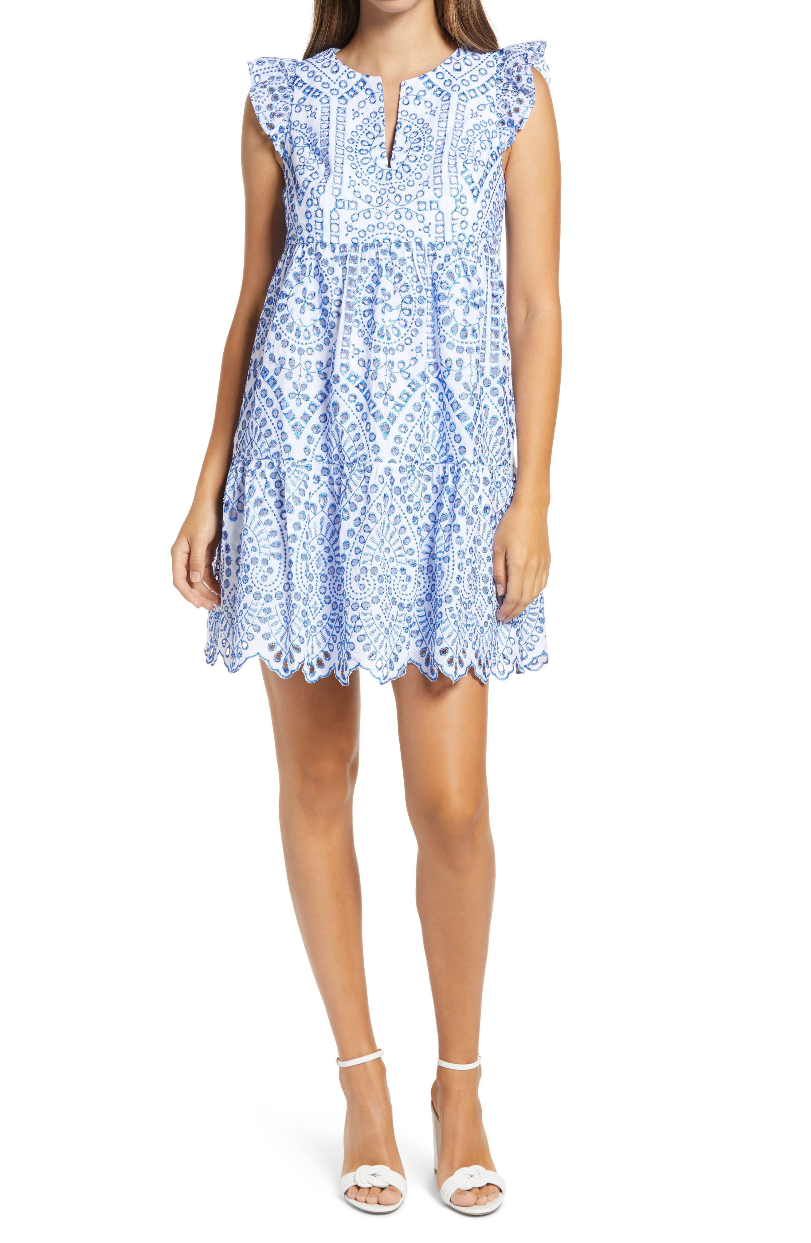 Lilly Pulitzer Keila Eyelet Babydoll Dress Nordstrom In 2021 Nordstrom Dresses Dresses Babydoll Dress [ 4048 x 2640 Pixel ]