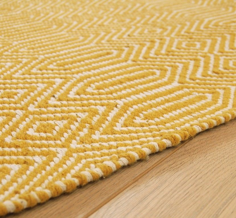 Completely new Sloan Mustard Rugs (66 x 200cm) | Debenhams, Mustard and 50th JW12