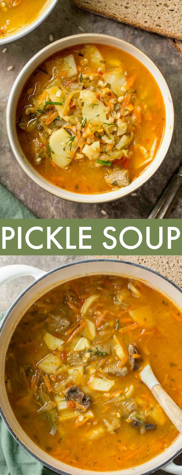 Dill Pickle Soup Recipe