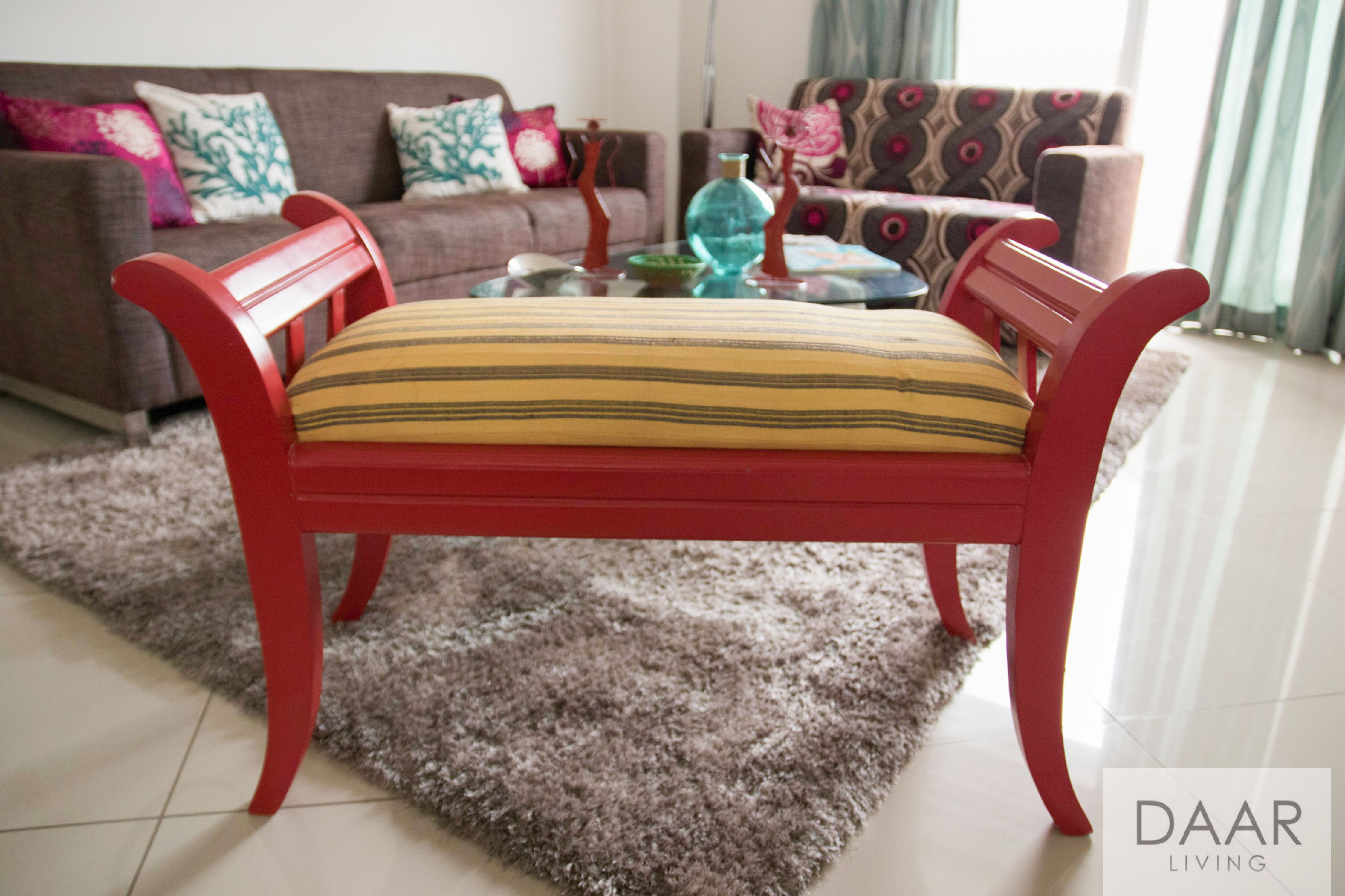 Daar Living Aso Oke Love Seat Interior Styling Interior Love Seat