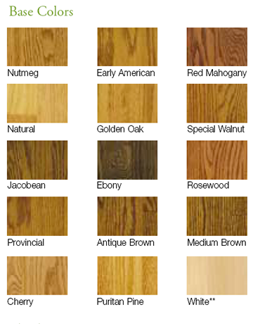 Hardwood Floor Color Options Jacobean Antique Brown Medium NOT Our Existing Golden Oak