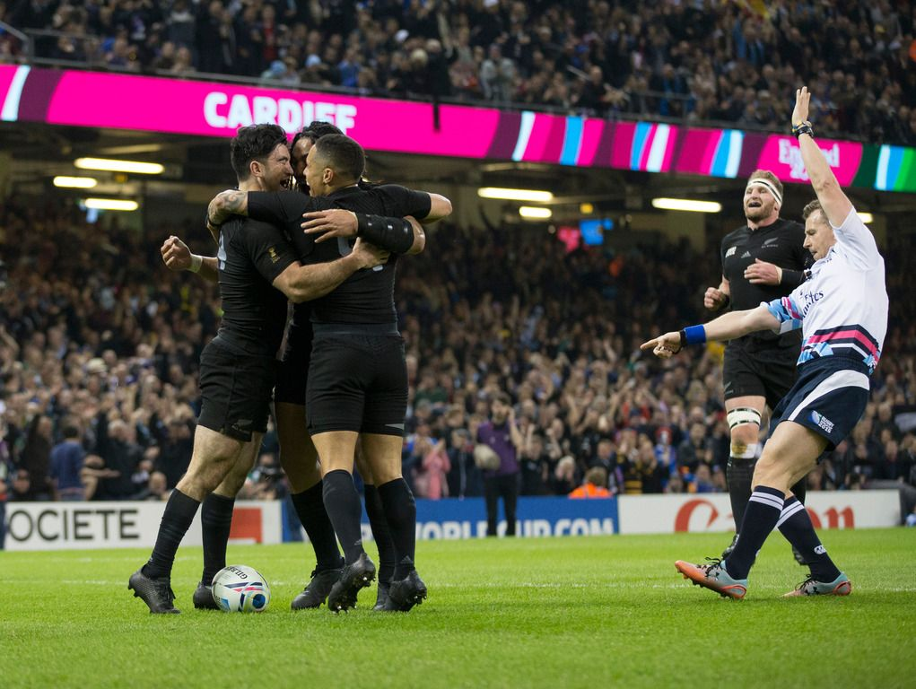 Rugby World Cup 2015 All Blacks crush France in Cardiff