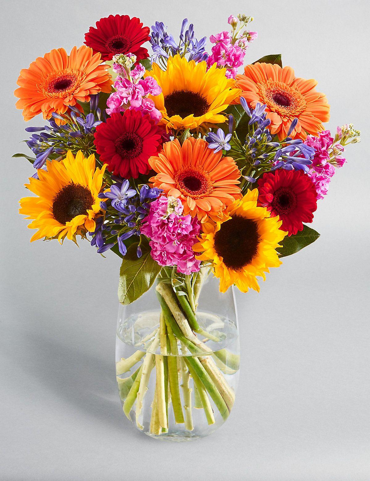 Spirit of Summer Bouquet Summer flower arrangements