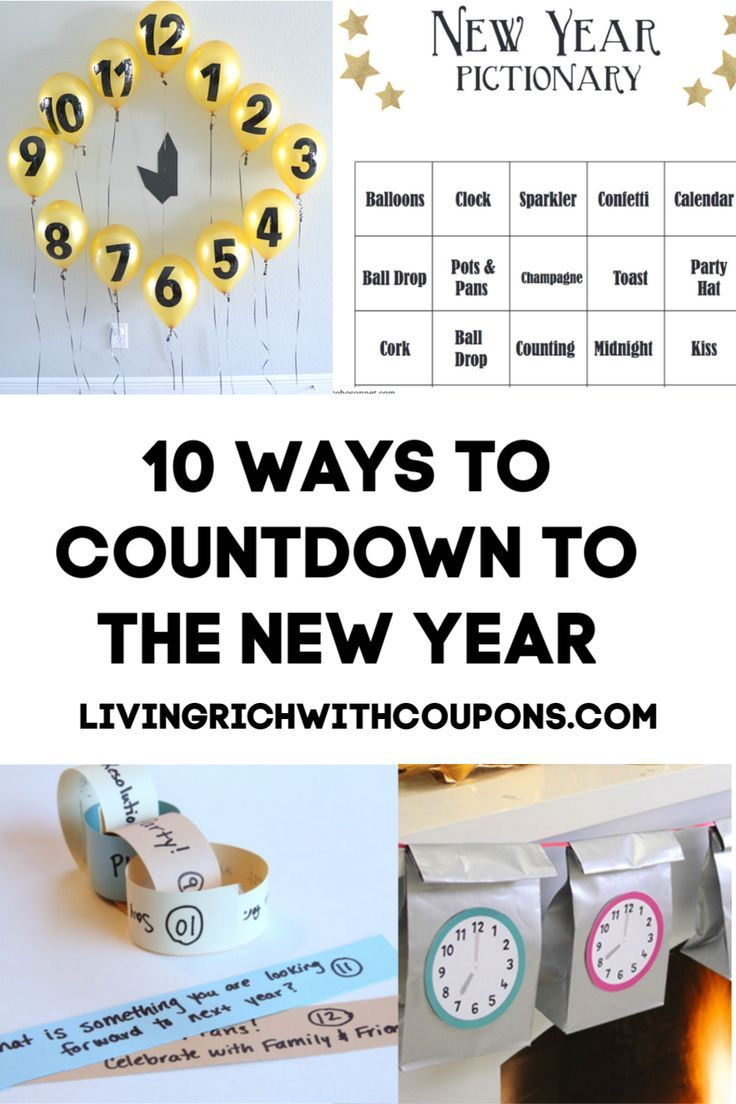 10 Fun Family Friendly Ways to Countdown to the New Year
