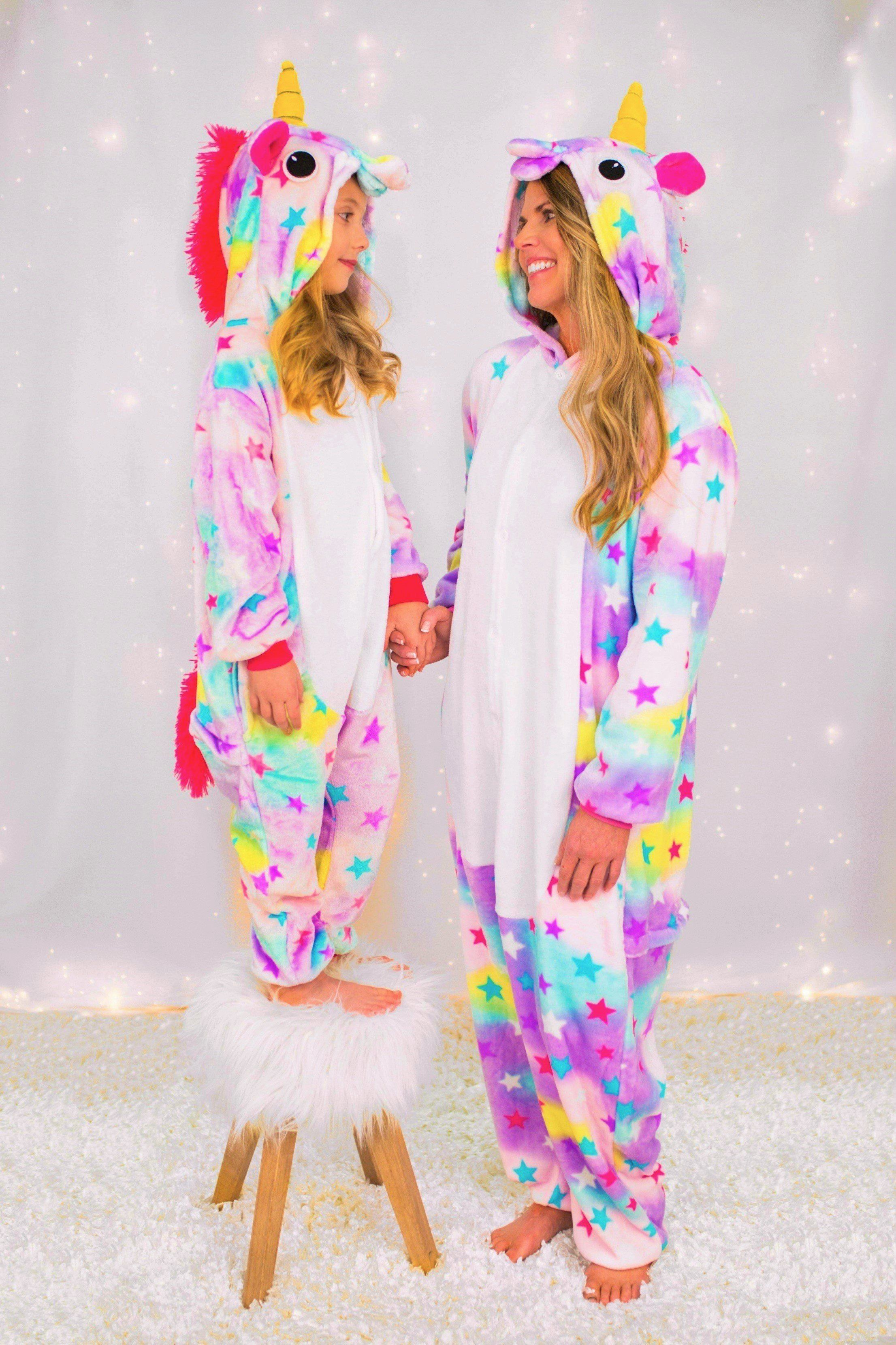Mom   Me - Shoot for the Stars Unicorn Onesies  327e45e28