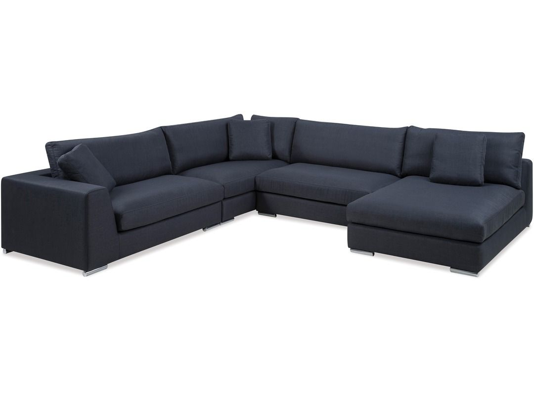 Amery Corner Suite Chaise Rhf Danske Mobler New Zealand Made Furniture Lounge Suites Deep Seating Suite