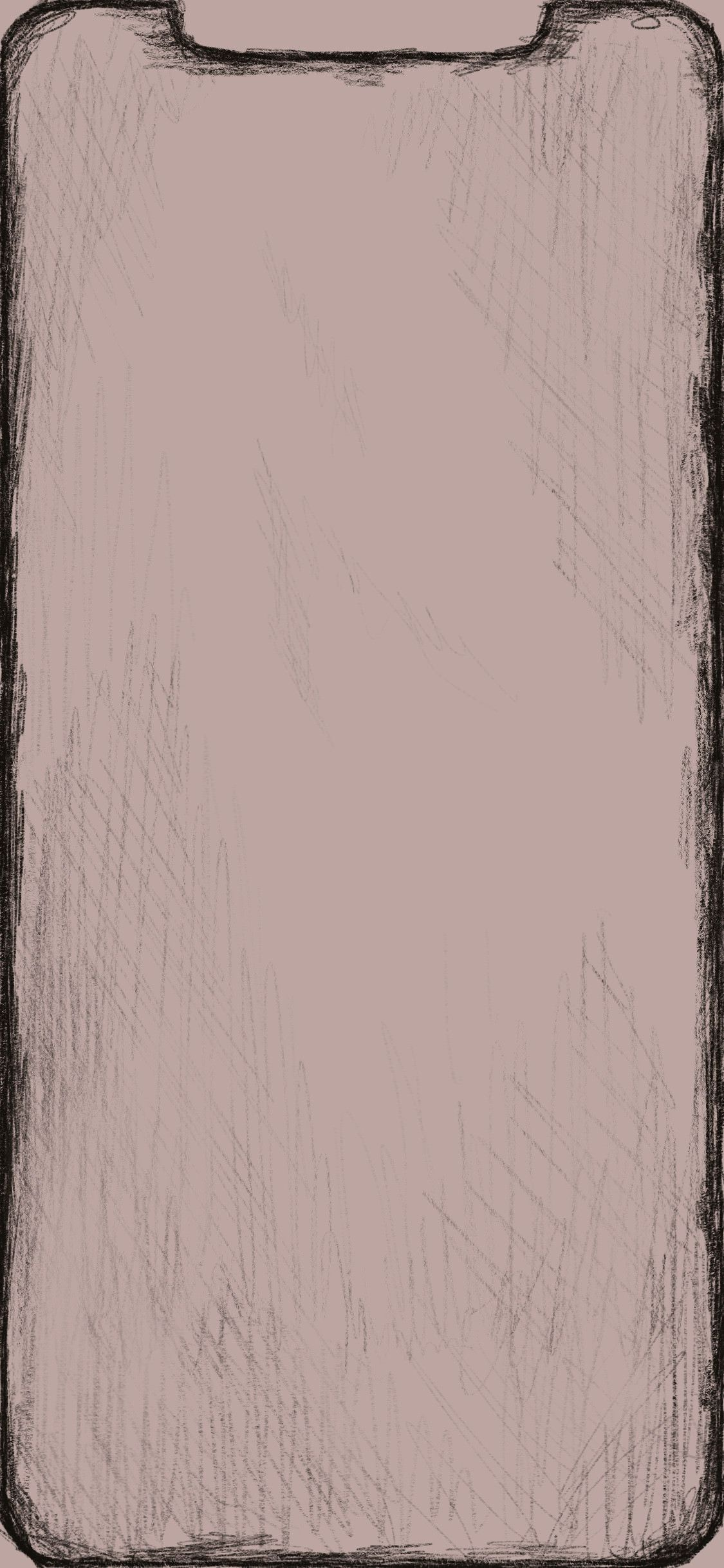 Sketched Border Wallpaper For Xs Max Four Other Colors In