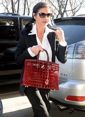 8793e9e9eb85 The red birkin crocodile bag is on our stone White birkin crocodile ...