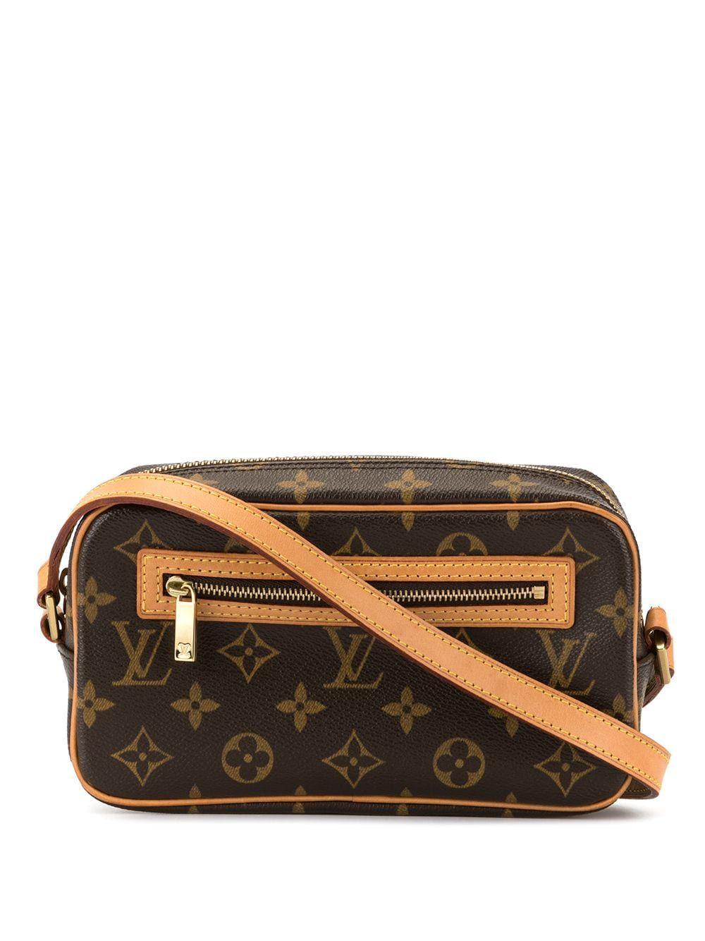 Louis Vuitton Pre Owned Cite Shoulder Bag Brown Louis Vuitton Shoulder Bag Louis Vuitton Shoulder Bag