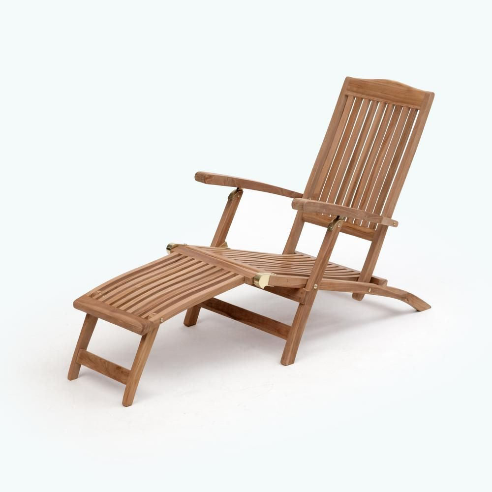 Teak Chaise Lounge Chairs Transcontinential Group Bali Brown Folding Teak Outdoor Lounge