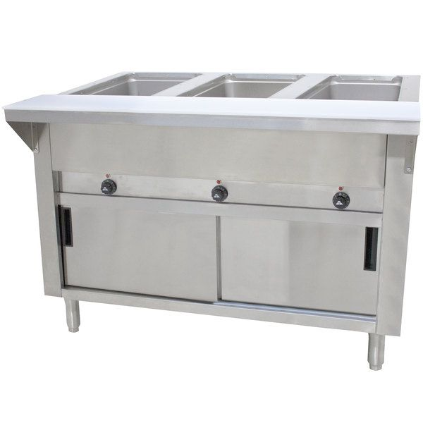 Best Advance Tabco Sw 3E 120 Dr Three Pan Electric Hot In 2020 400 x 300