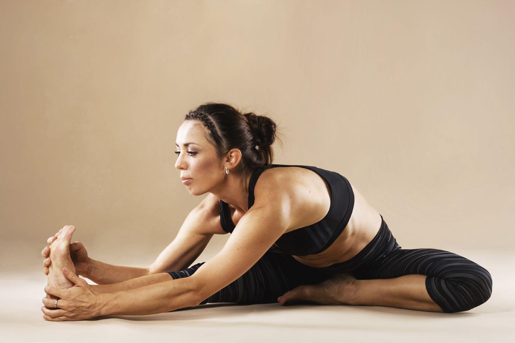 yoga για τα πόδια
