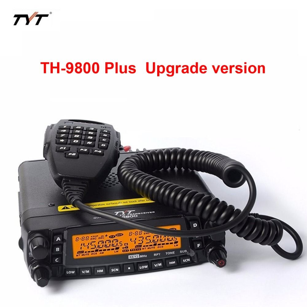 New TYT TH-9800 50W 809CH Quad Band Dual Display Repeater Car Transceiver Radio