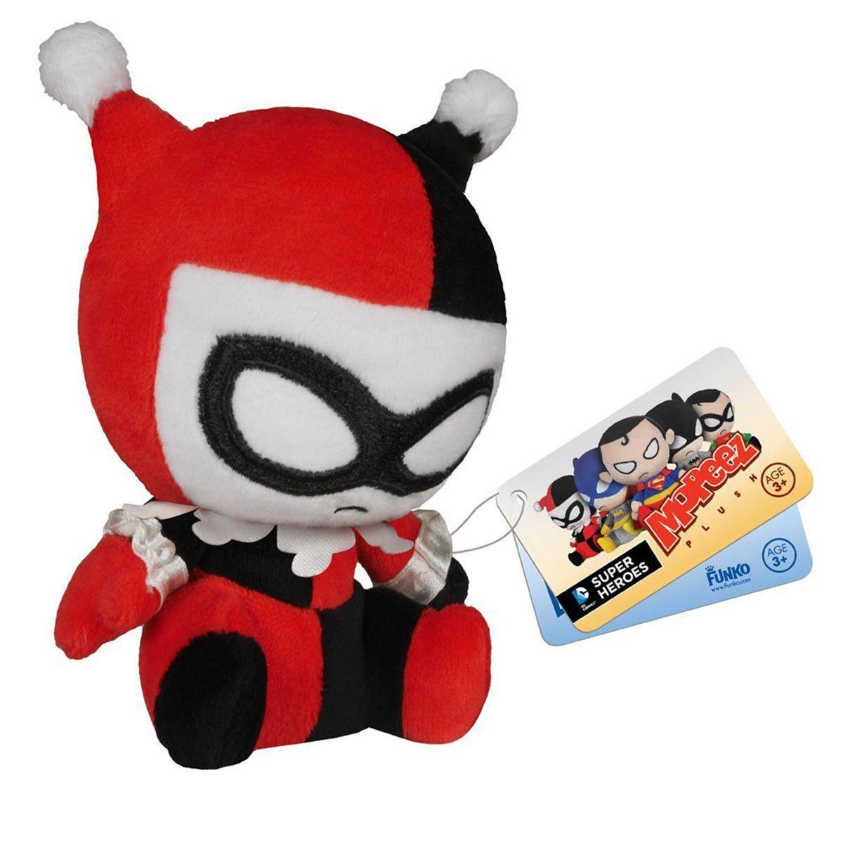 DC Comics Mopeez Harley Quinn Plush Figure