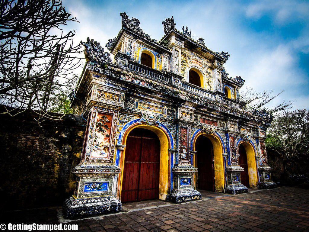 The Citadel Imperial City Forbidden Purple City Hue Vietnam Laos Cambodge Vietnam