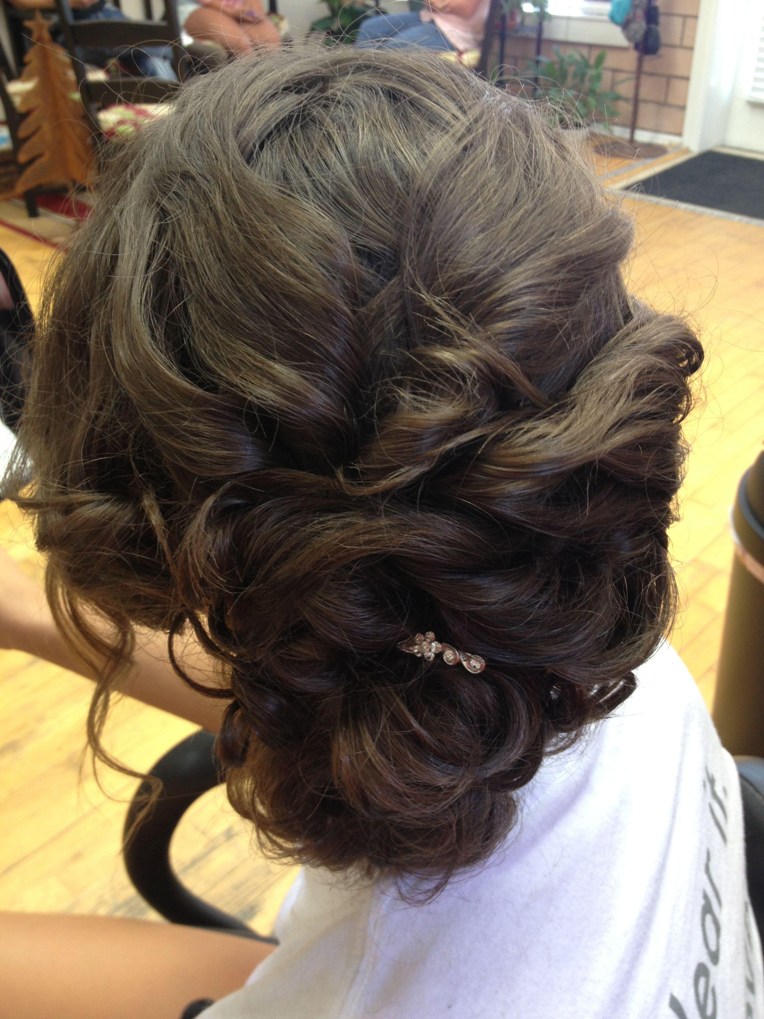 Prom updo Tammy Galvan 940-300-1845. Amici Hair Salon | Long hair styles, Wedding updo, Hair styles