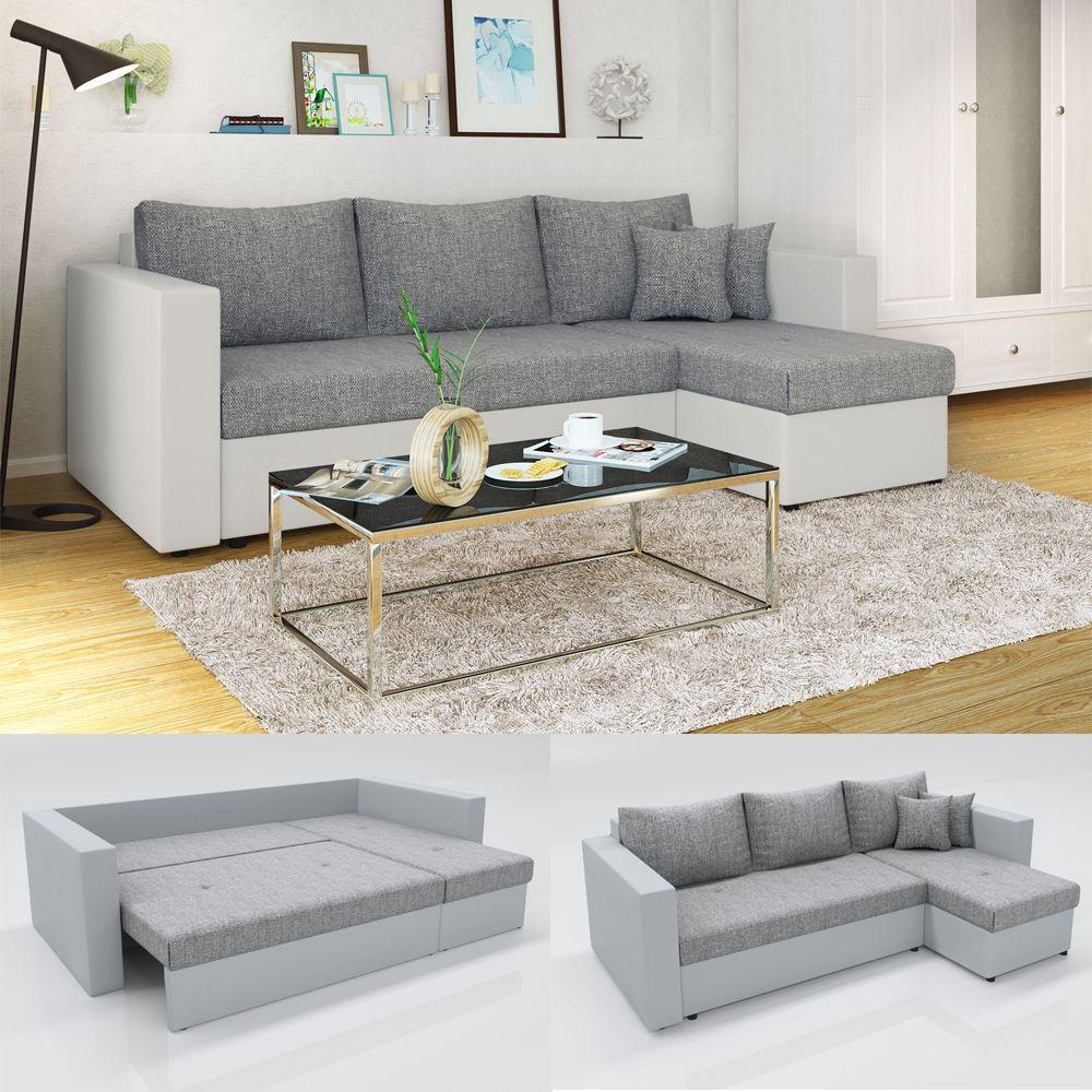 65 Klassisch Couch Grau Weiss