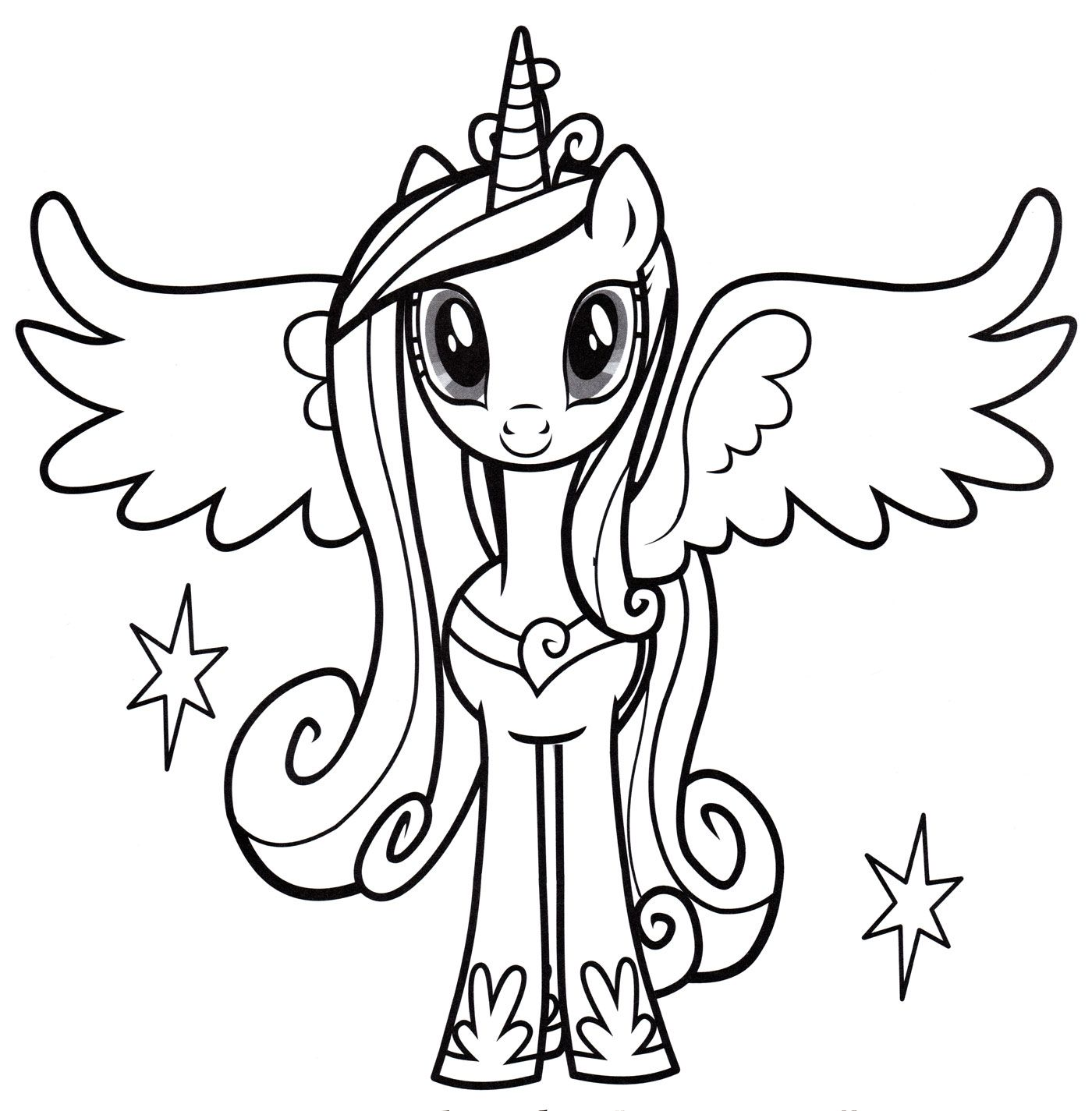 Pin By Erin Baliya On Princess Cadence My Little Pony Coloring My Little Pony Printable Christmas Coloring Pages