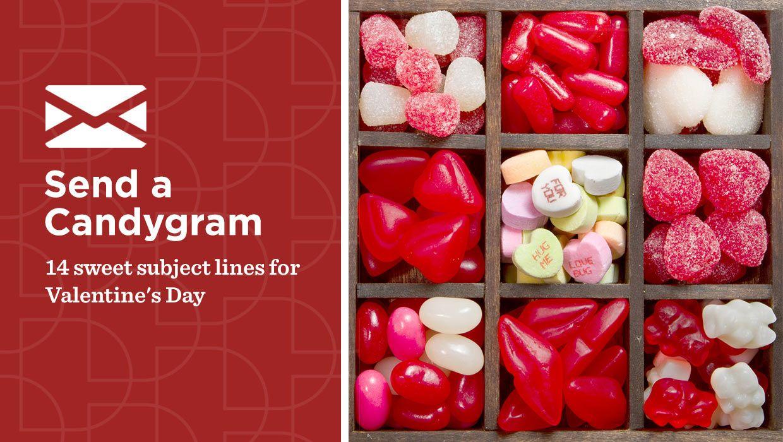 Rt Vr4smallbiz Send A Candygram 14 Sweet Subject Lines For