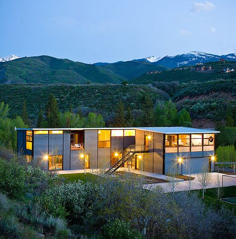 steel and glass modular homes re post prefab round up 1 - Modular Home Designs