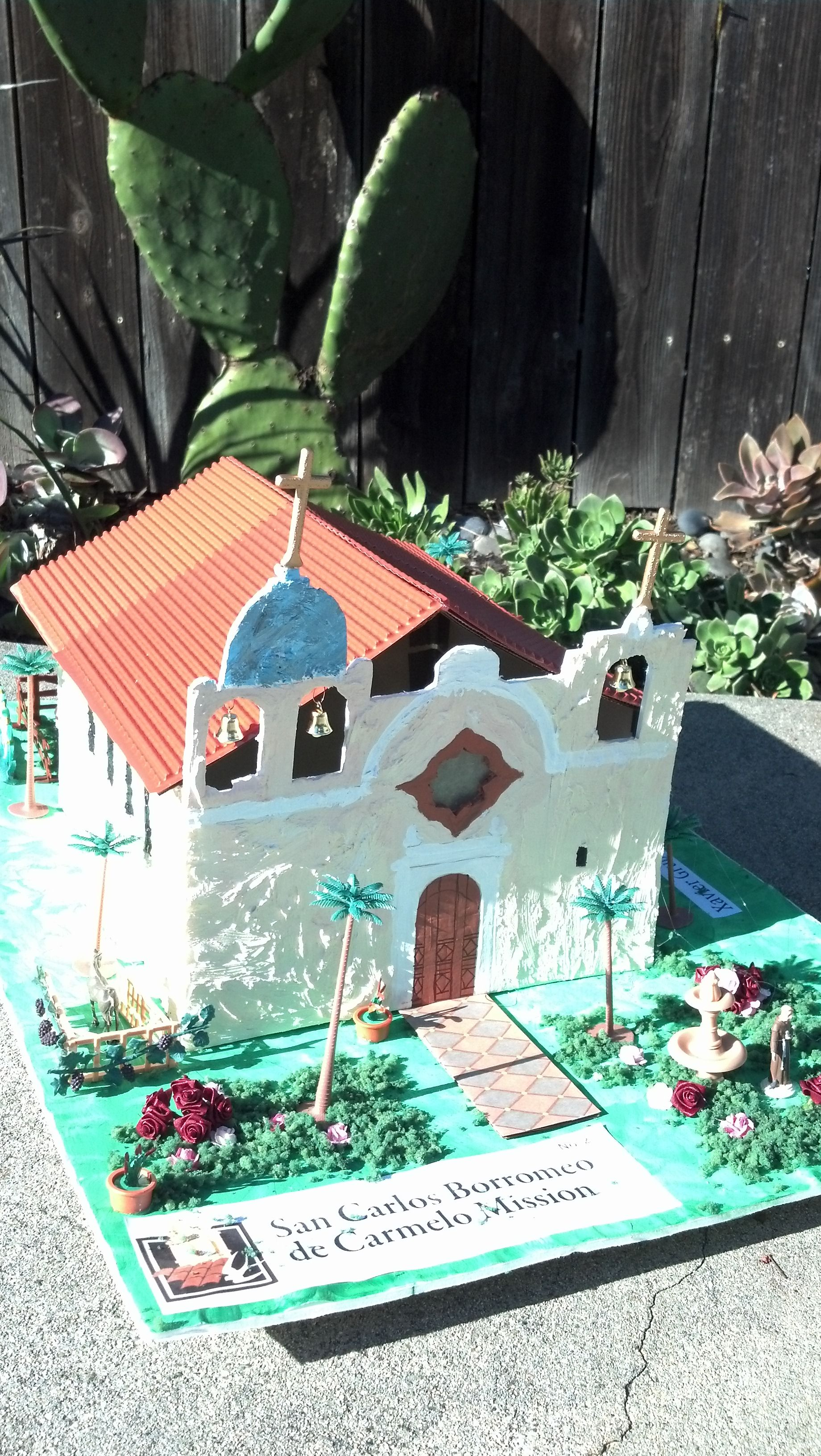 carmel mission ideas for brendans project | school crafts, projects