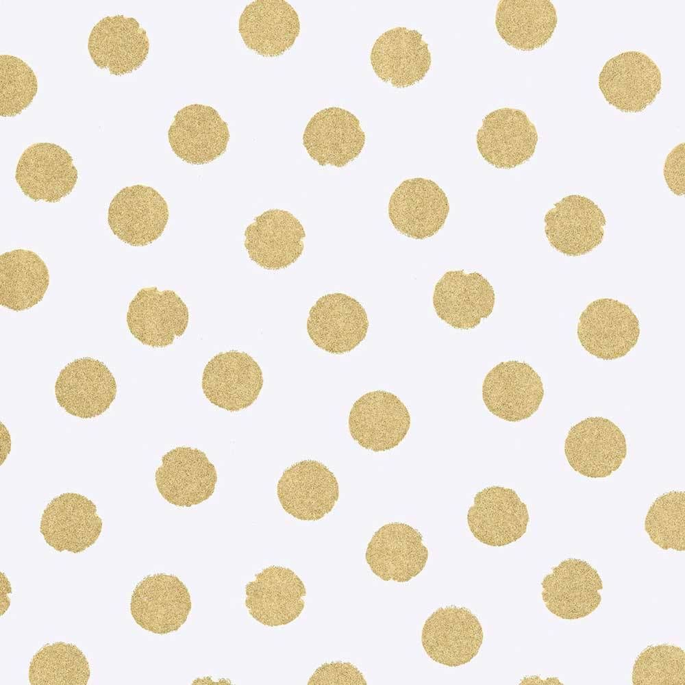 rice tapete gro e punkte gold mit glitzer flur gold ocker hallway golden ocher. Black Bedroom Furniture Sets. Home Design Ideas