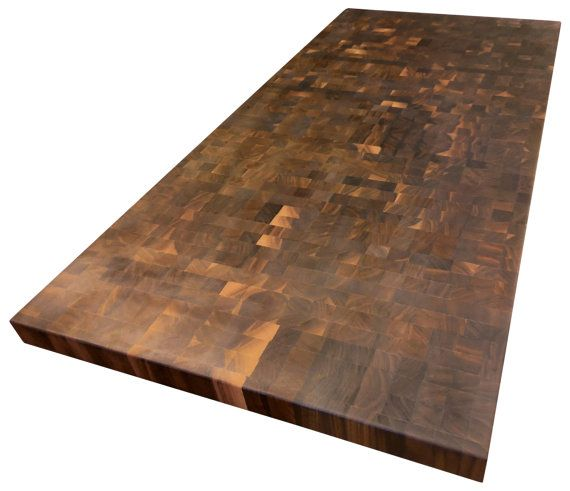 End Grain Walnut Butcher Block Countertop By Armaniwoodworking