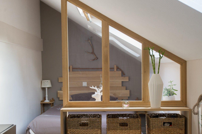 La cloison amovible redessine l 39 espace avec images - Dressing dans une petite chambre ...