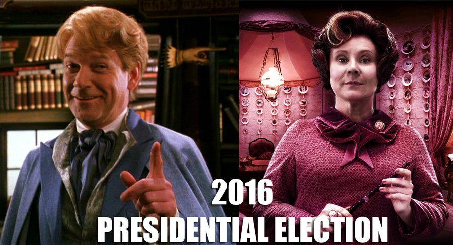 Trump Vs Hillary Harry Potter Harry Potter Jokes Harry Potter Funny
