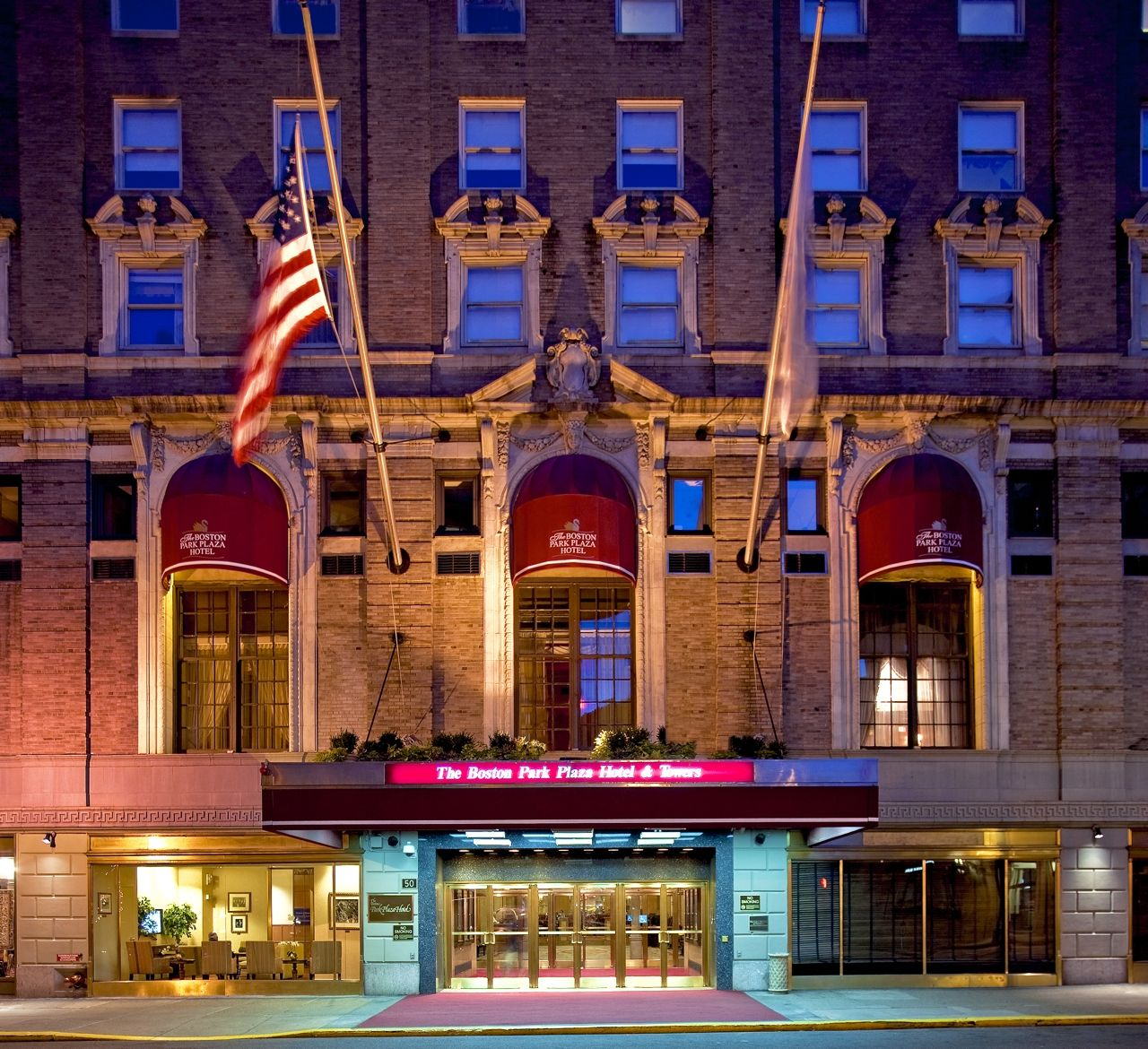 Boston Vacations Ideas: Boston -- Park Plaza Hotel & Towers -- Fabulous Place To