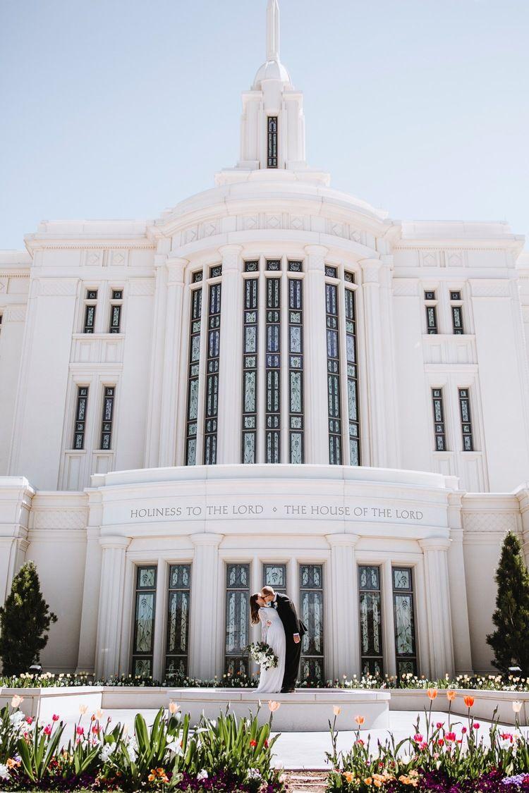 Payson Utah Temple Wedding Temple Wedding Utah Temples Payson
