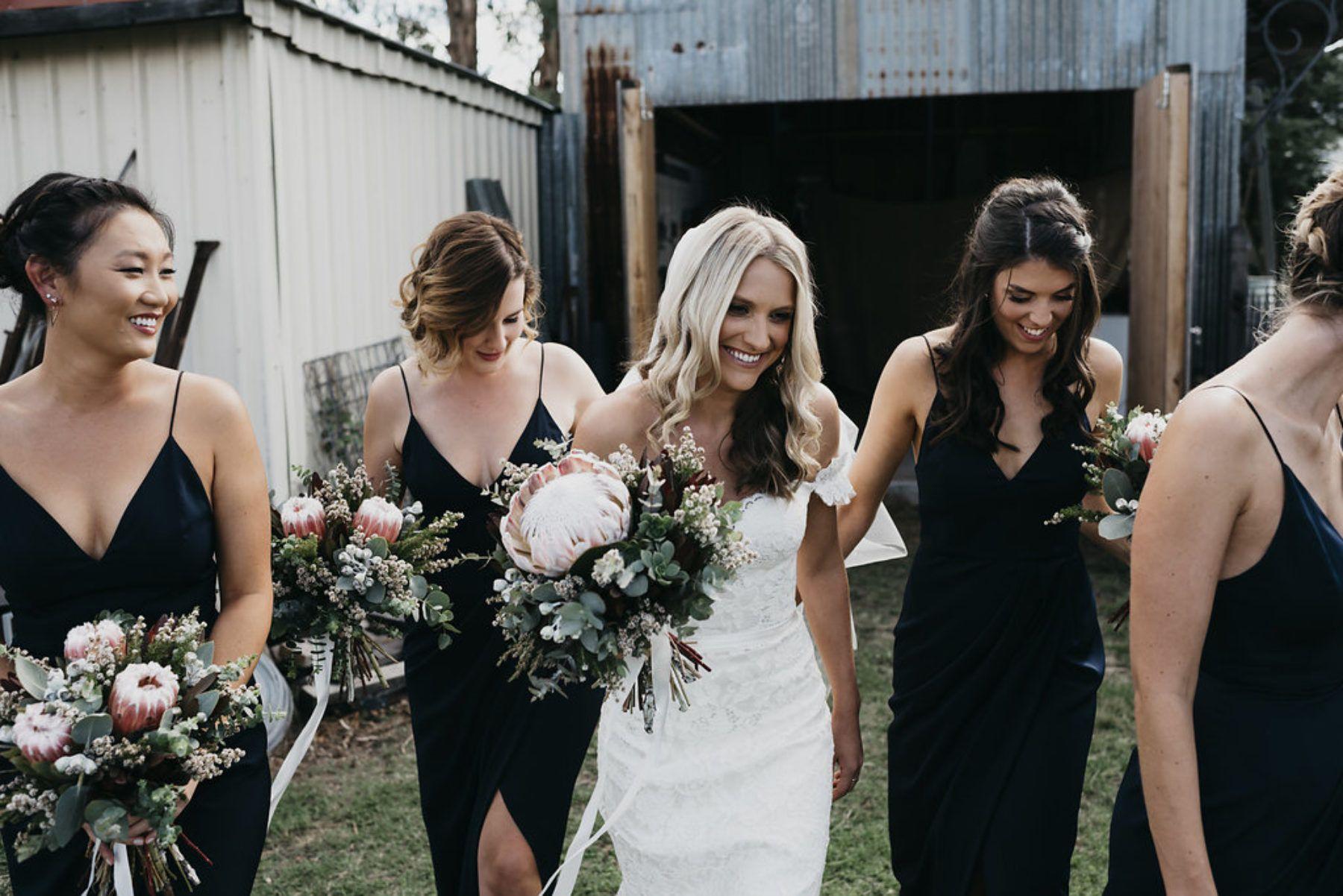 Black bridesmaid dresses by shona joy bridesmaids pinterest black bridesmaid dresses by shona joy ombrellifo Images