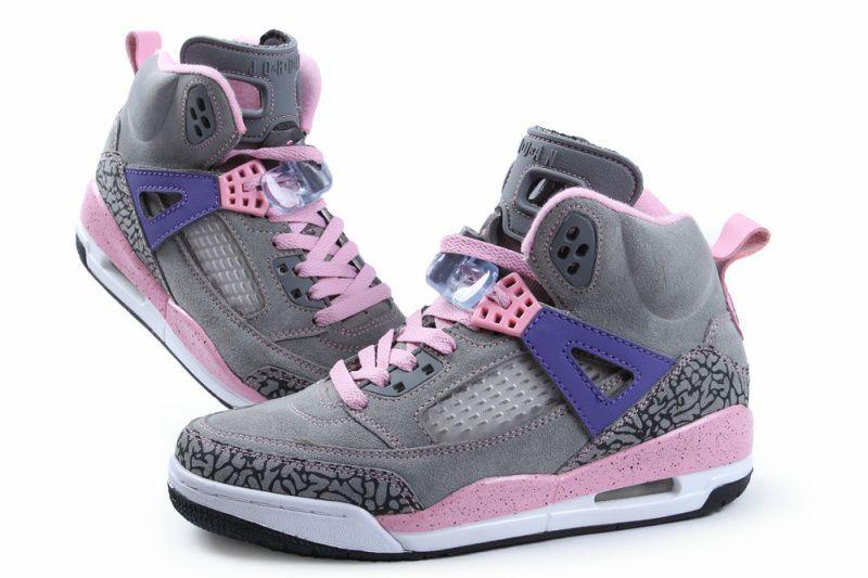 Air Jordan Spizike Womens Grey Pink