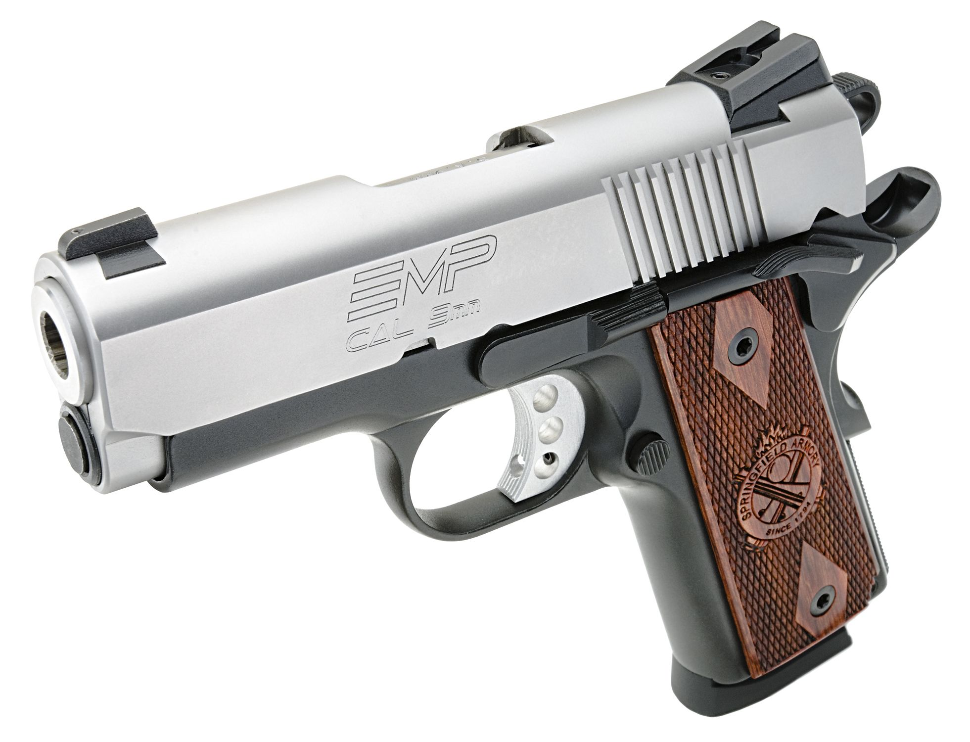 Springfield Armory® aluminum-frame 1911 EMP® 9MM   Weapons, armor ...