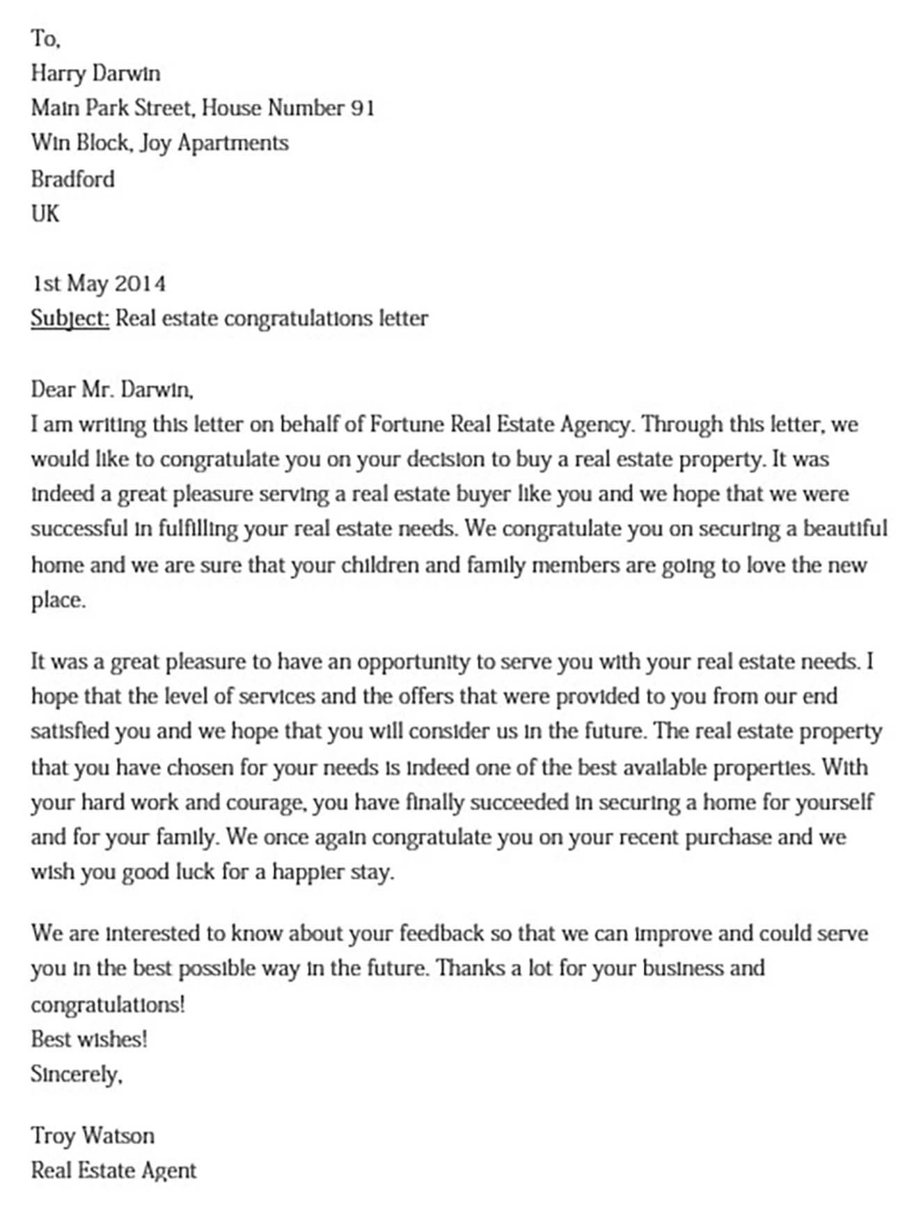 Real Estate Offer Letter And How To Write It Best Check More At Https Moussyusa Com Real Estate Offer Letter Lettering Write To Me Real Estate Agency