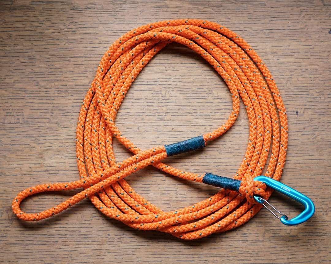 The Long Walkabout 15 Feet Dog Gear Rope leash, Rope