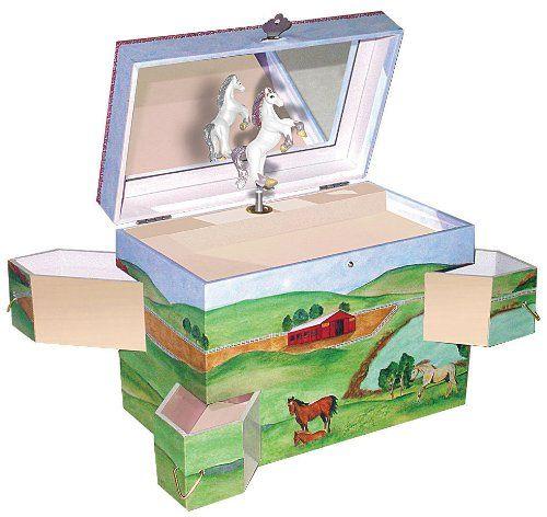 Enchantments Hideaway Horse Music Box Enchantmintshttpwwwamazon