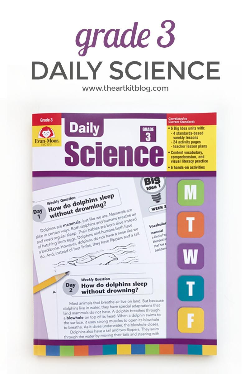 Review: Evan-Moor Daily Science Grade 3 | Science Resources from