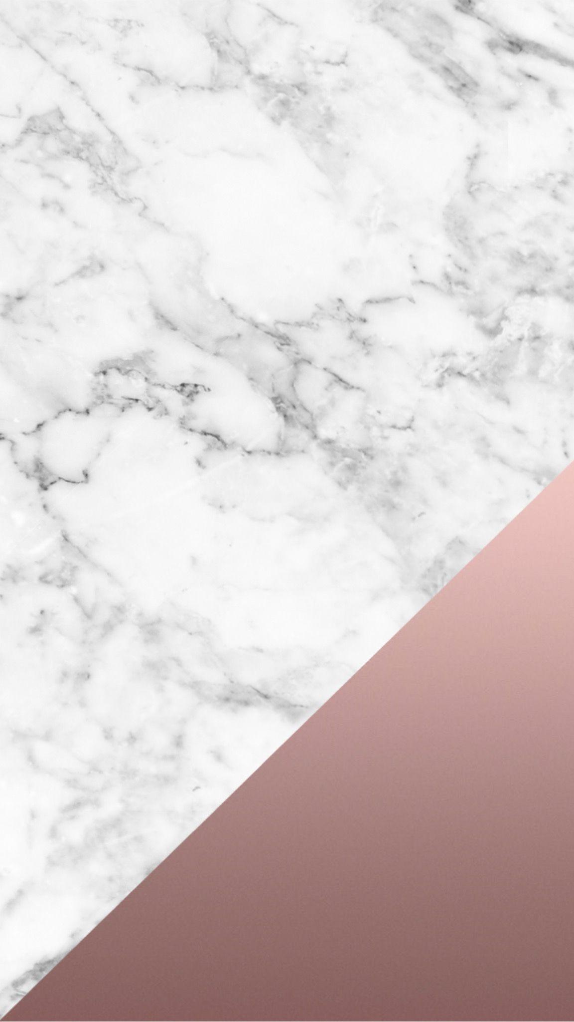 Rose Gold Marble Iphone Tumblr Wallpaper