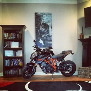 2 Weeks Ago New Living Room Decor Love It Boyswillbeboys Ktm Superduke Superduke1290 Bikeswithoutlimits Biker Bikersofinstagram Motolife