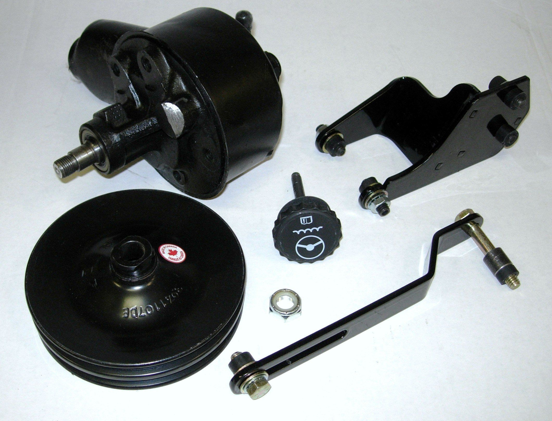 hight resolution of 1955 1956 1957 chevy power steering pump pulley bracket