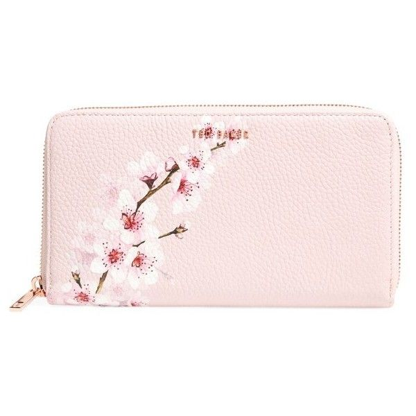 d74326448d9f8b Women s Ted Baker London Kohei Soft Blossom Leather Matinee Wallet ( 149) ❤  liked on