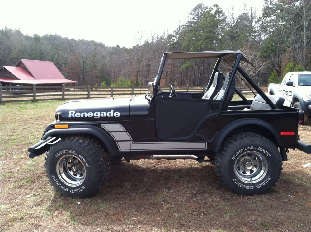Cj5 custom jeep decals renegade its a jeep thing for Custom jeep lettering