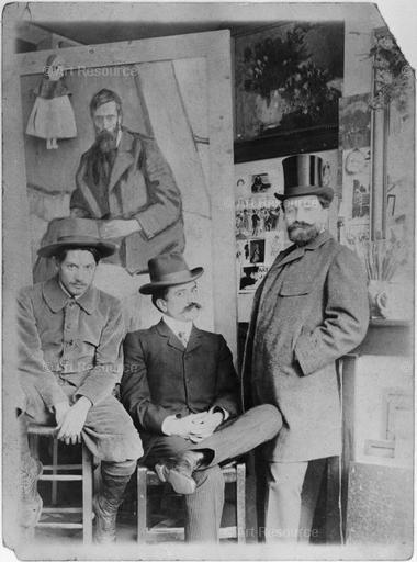 1900-1909, Art Dealer, Hat, Male, Photograph, Picasso, Pablo 1881