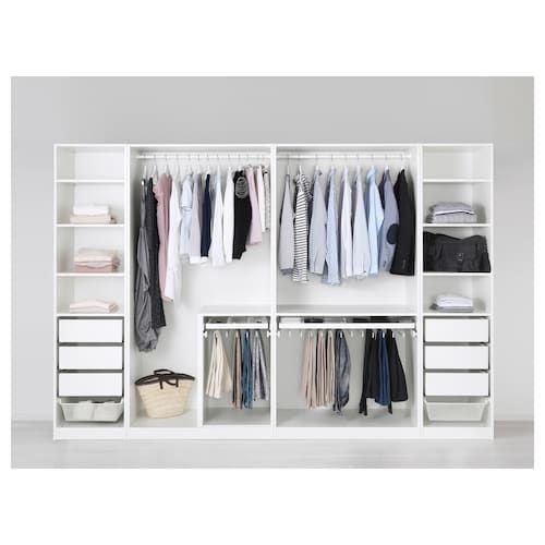PAX Wardrobe white in 2019  house shit fur realsies