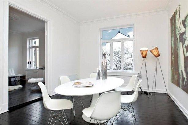 Idee wit interieur donkere vloer | woning | Pinterest - Interieur