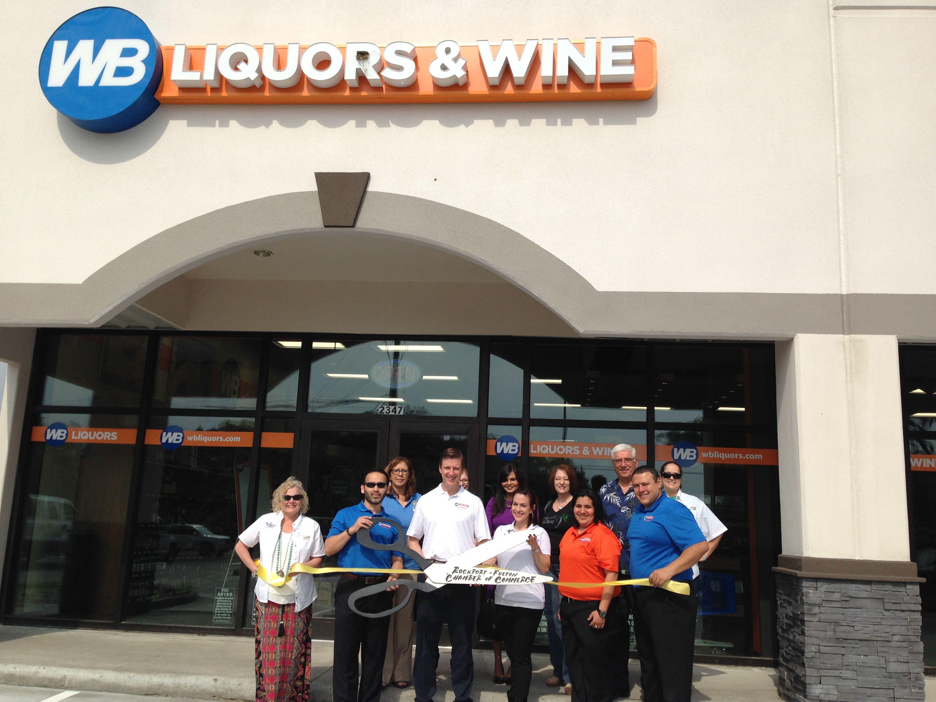 Plexus Chamber Of Commerce: WB Liquors & Wine Rockport-Fulton Texas Http://wbliquors