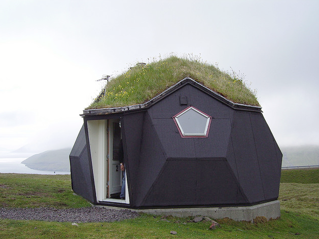 Igloo home! in the Faroe Islands