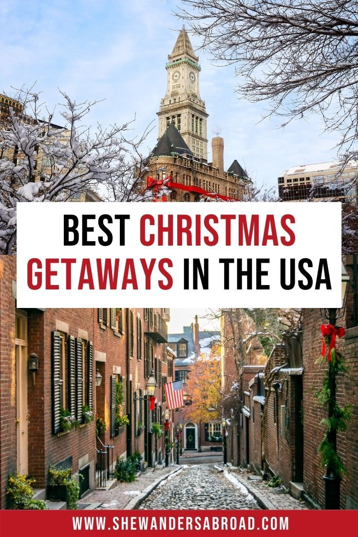 16 Magical Christmas Destinations in the USA